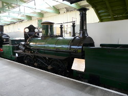 Derwent- Number 25 from the Tory class.  Built in 1845 for the S&D Derwent is the oldest surviving Darlington built locomotive.  Photo: Tim Ruffle.